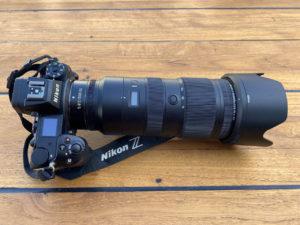 Nikon Mirorrless Camera with lens